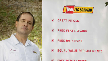 Les Schwab Free Tire Protection TV Spot