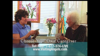 Visiting Angels TV Spot Keeping Independence - Thumbnail 8
