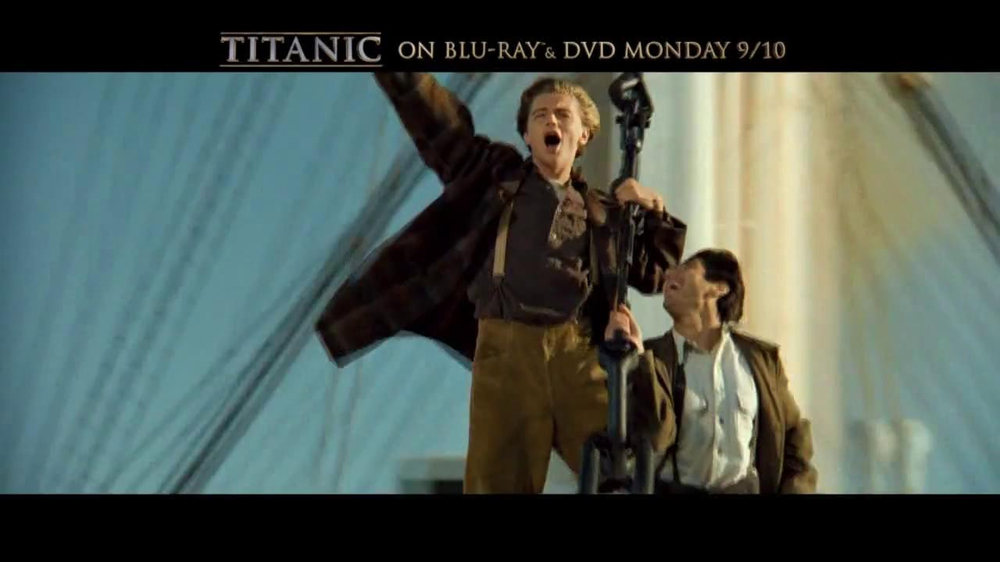 Titanic on Blu-Ray and DVD TV Spot