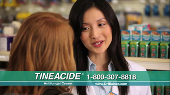 Tineacide Anti Fungal Cream TV Spot