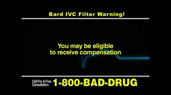 Pulaski & Middleman, L.L.C, Attorneys TV Spot for Bard IVC Filters - Thumbnail 8