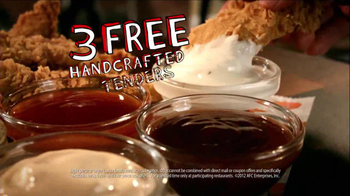 Popeyes TV Spot, 'Three Free Chicken Tenders' - Thumbnail 3