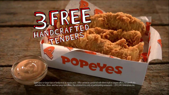 Popeyes TV Spot, 'Three Free Chicken Tenders' - Thumbnail 5