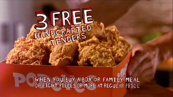 Popeyes TV Spot, 'Three Free Chicken Tenders' - Thumbnail 6