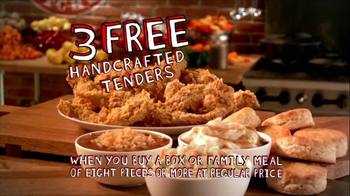 Popeyes TV Spot, 'Three Free Chicken Tenders' - Thumbnail 7