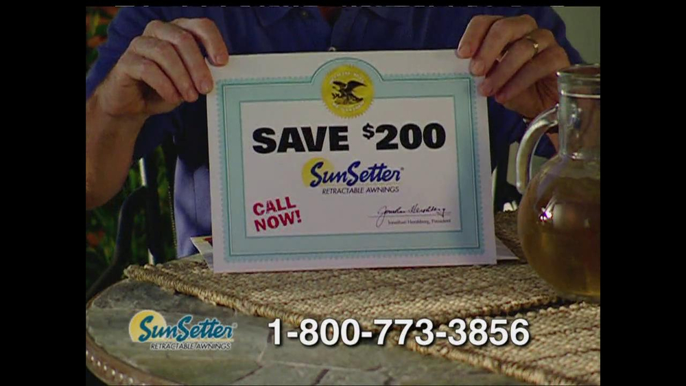Sunsetter Tv Commercial Too Hot Ispot Tv