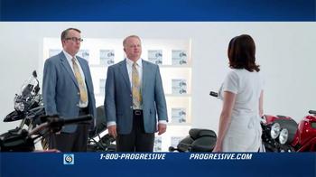 Progressive TV Spot, 'Falling Motorcycles' - Thumbnail 3