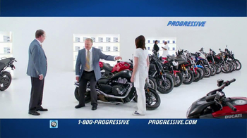 Progressive TV Spot, 'Falling Motorcycles'