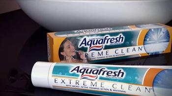 AquaFresh Extreme Clean TV Spot - Thumbnail 4