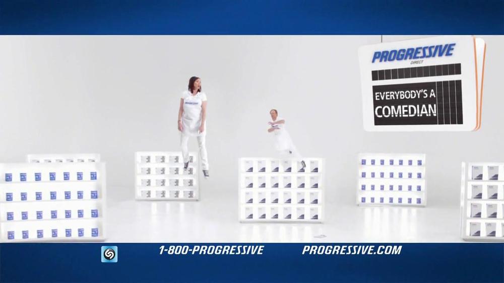 Progressive TV Commercial, 'Gravity Reversal Board' - iSpot.tv
