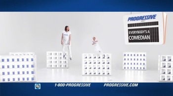 Progressive TV Spot, 'Gravity Reversal Board'