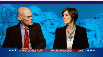 Maker's Mark TV Spot featuring James Carville, Mary Matalin - 8 commercial airings