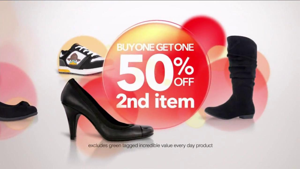Payless Shoe Source TV Commercial for Green Tag Savings