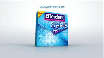 Efferdent Power Clean Crystals TV Spot - Thumbnail 9