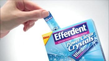 Efferdent Power Clean Crystals TV Spot - Thumbnail 2