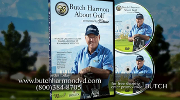 Butch Harmon DVD TV Spot for Golf Video Featuring Tiger Woods - Thumbnail 10
