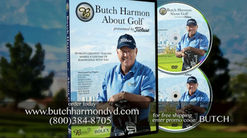 Butch Harmon DVD TV Spot for Golf Video Featuring Tiger Woods