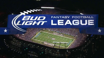 Bud Light TV Spot, 'Fantasy Football League' - 90 commercial airings