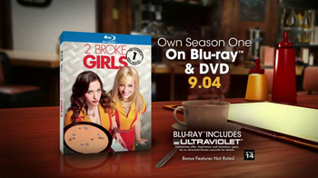 2 Broke Girls: The Complete First Season Blu-Ray TV Spot - Thumbnail 10