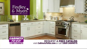 Cabinets To Go TV Spot for A Great Deal On Cabinets