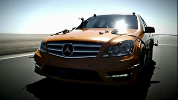 2013 Mercedes-Benz C-Class TV Spot, 'Orange Car'