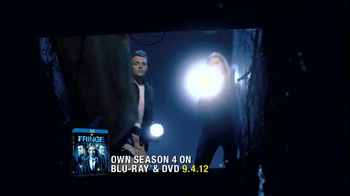 FOX TV Spot for Fringe Season 4 on Blu-Ray and DVD - Thumbnail 1