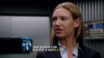 FOX TV Spot for Fringe Season 4 on Blu-Ray and DVD - Thumbnail 2