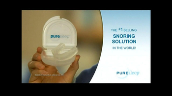 PureSleep TV Spot, 'No More Snoring'