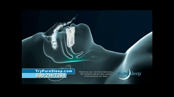 PureSleep TV Spot, 'No More Snoring' - Thumbnail 6