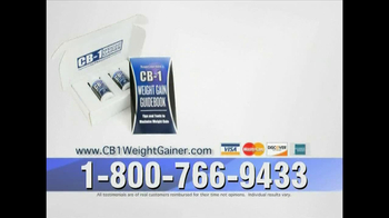 CB-1 Weight Gainer TV Spot for Tired of Being Skinny - Thumbnail 10