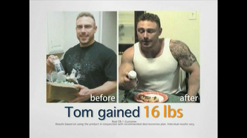 CB-1 Weight Gainer TV Spot for Tired of Being Skinny - Thumbnail 4