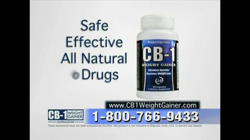 CB-1 Weight Gainer TV Spot for Tired of Being Skinny - Thumbnail 8