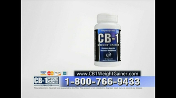 CB-1 Weight Gainer TV Spot for Tired of Being Skinny - Thumbnail 9