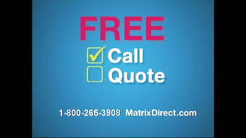 Matrix Direct TV Spot for 3 out 4 Americans