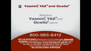Sokolove Law, LLC TV Spot, 'Yazmin, Yaz and Ocella'