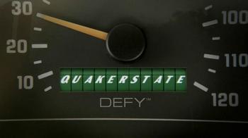 Quakerstate TV Spot, 'Defy Motor Oil' Featuring Dale Earnhardt Jr. - Thumbnail 1