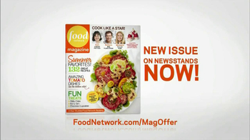 Food Network Magazine TV Spot, 'Summer' - Thumbnail 8