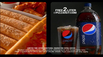 Pizza Hut Big Dinner Box with 2-Liter Pepsi TV Spot - Thumbnail 10