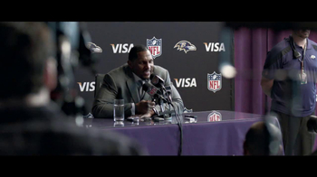 VISA TV Spot for 'Tough Interview Questions' Feat. Ray Lewis - Thumbnail 4