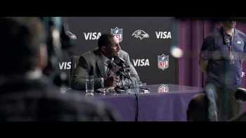 VISA TV Spot for 'Tough Interview Questions' Feat. Ray Lewis - Thumbnail 8