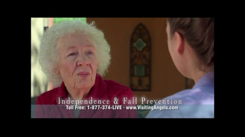 Visiting Angels TV Spot 'A Little Help' - Thumbnail 6