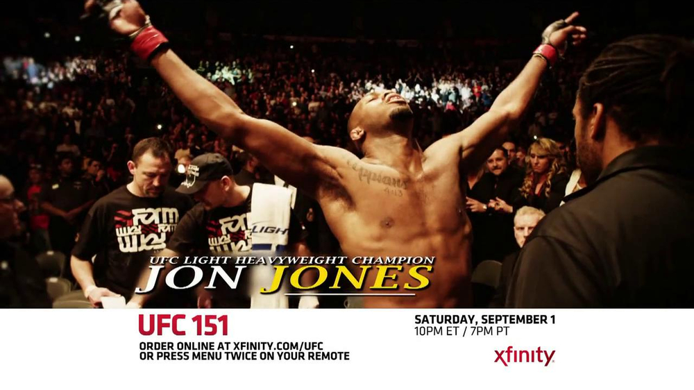 XFINITY On Demand TV Commercial, 'UFC 151'