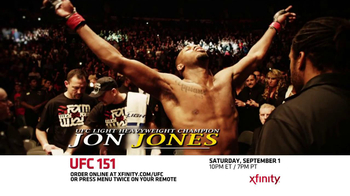 XFINITY On Demand TV Spot, 'UFC 151' - 35 commercial airings