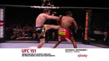 XFINITY On Demand TV Spot, 'UFC 151' - Thumbnail 4