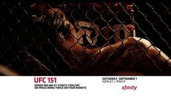 XFINITY On Demand TV Spot, 'UFC 151' - Thumbnail 5
