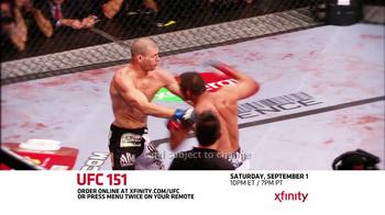 XFINITY On Demand TV Spot, 'UFC 151' - Thumbnail 6