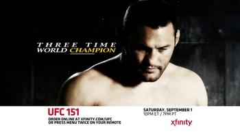 XFINITY On Demand TV Spot, 'UFC 151' - Thumbnail 7