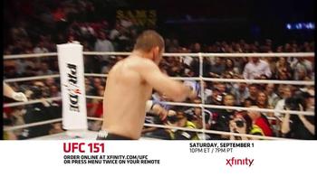XFINITY On Demand TV Spot, 'UFC 151' - Thumbnail 8