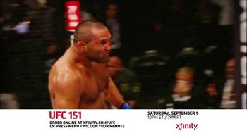 XFINITY On Demand TV Spot, 'UFC 151' - Thumbnail 9