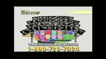 Shimmer Body Art TV Spot, 'Go With the Glow'